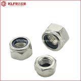 Contre-écrou en nylon DIN985 d'acier inoxydable
