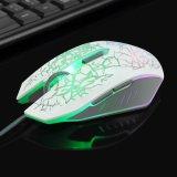 Amazon лидеров продаж 2400 геймер мышь с 7 Цветной светодиодный индикатор (M-65)