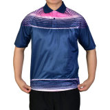 Healongのスポーツ・ウェア最新のデザインデジタル織物印刷のTシャツの印刷
