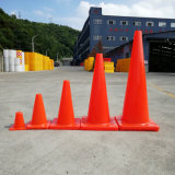 91cmのオレンジベースオレンジPVCトラフィックの円錐形