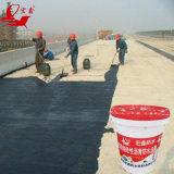 Membrana impermeable líquida modificada polímero material impermeable del betún del puente del camino
