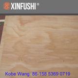 17mm C/D der Grad strahlen Kiefer-Furnierholz aus