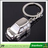 Venta al por mayor promocional barata del Keyring del coche de metal