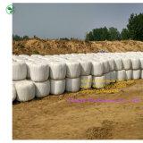 Productos envueltos en una película de la protección de la bala del ensilaje de la agricultura