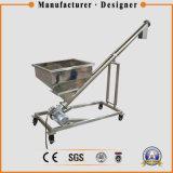 Transportador de tornillo flexible de elevación del grano del acero inoxidable