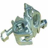 La baisse a modifié le double coupleur pour l'échafaudage de tube et de coupleur