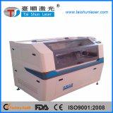 Tipo Closed máquina de gravura do laser do couro do CO2 da cabeça do dobro