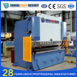 Wc67y CNC Placa de alumínio hidráulico Press Brake