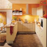 BS gebogener Countertop-Melamin-Küche-Schrank