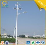 China Top blanco puro 15W a 120W viento solar luces de calle híbrido