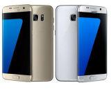 Téléphone mobile déverrouillé refourbi de téléphone cellulaire de smartphone du bord S7