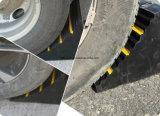 駐車装置のゴム製車輪のくさび