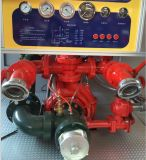 دونغفنغ 4X2 LHD 6m3 المياه رغوة حريق شاحنة