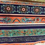 Nueva tela de materia textil de la decoración de la raya de la impresión 2016