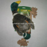 ロープペットプラシ天のアヒルの製品供給犬のおもちゃ