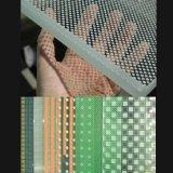 Vidro decorativo da impressão Tempered do Silk-Screen para o aparelho electrodoméstico da mobília/decoração
