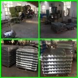 Alta qualidade 5 cremalheiras galvanizadas MDF do armazenamento do metal da prateleira da série