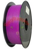 Además de ABS en espiral de 3,0 mm de filamento de impresión 3D de color púrpura