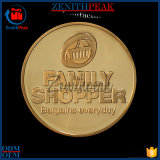 Família de metal personalizada de fábrica OEM Shopper Monograma redonda com design livre
