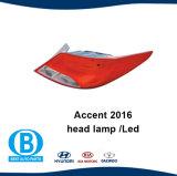 De Fabrikant van de Lamp van het Achterlicht van het Accent 2016 van Hyundai voor AutoToebehoren