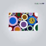 Tarjeta elegante impresa 4 colores del regalo del PVC