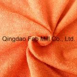 El cáñamo / Algodón Orgánico sola Jersey tela (QF13-0346)