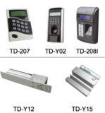 Электрические фингерпринт продукта и замок Td-Y02 пароля