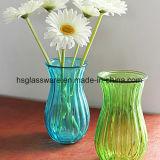 De bespoten Vaas van de Kleur, de Kleurrijke Vaas van het Glas