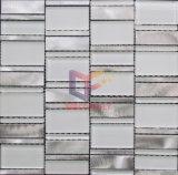 Vague verre Mix couleur aluminium Mosaïque (CFA59)