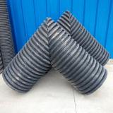 Comercio al por mayor negro Double-Wall de HDPE Tubería de drenaje de Cartón Ondulado