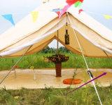 RUNDZELT-Strand-Festival-Zelt helle Baumwollsegeltuch-Familiesahara-Luxux