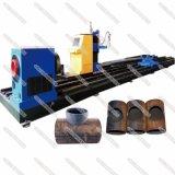 3 Mittellinien-Stahlrohr-Loch CNC-Plasma-Ausschnitt, der Maschine einkerbt