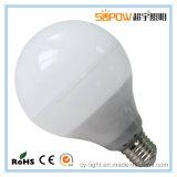 Bombilla CE RoHS UL cuerpo de aluminio 12W 15W 18W E27 / B22 de luz LED