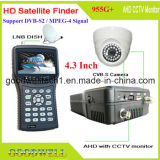 "Supprt Ahd CCTV Camera 4.3 ""Sat Finder"