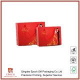 L'Impression offset sur papier de couleur rouge sac de cadeaux de mariage à l'emballage