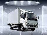 Isuzu 600p Caminhão de frigorífico com fumaça leve de uma fila