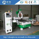 Ändernde Scherblöcke hölzerne CNC-Fräser-Selbstmaschine mit Bohrung-Block