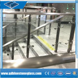 Fabricante de Vidrio Laminado de Seguridad las puertas, barandas y barandillas/Contador frentes.