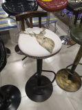 Barkruk van het Smeedijzer van de verkoop de Stevige Houten, het Dineren Stoel