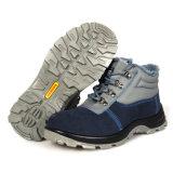 PU Outsoleの本革の産業安全の靴