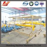 Transporte de parafuso Inclined usado concreto da planta de mistura da fonte da fábrica