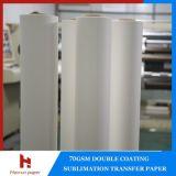 35/45 / 55 / 70gsm Mini Jumbo rouleau de papier Sublimation / 300m / 500m / 1000m / 2000m / 5000m pour imprimante Reggiani