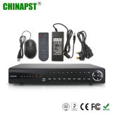 Más caliente de red CCTV 8CH Seguridad video DVR (PST-NVR208)
