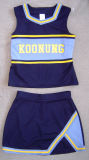 Cheerleader-Uniform: Shell-Oberseite und Fußleiste