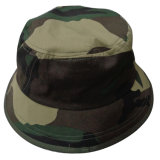 Chapéu da cubeta na tela de Camo (BT007)