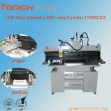Solder semi-automatique Paste Stencil Printer pour la carte de 1200mm