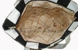 De modieuze Handtassen van het Strand van de Vrije tijd van het Canvas van de Streep voor Dames