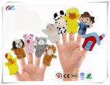 Zeit-Finger-Marionetten der Geschichte-10PCS - altes Macdonald hatte ein Bauernhof-pädagogische Marionetten