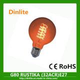 Commerce de gros G80 25/40/60W Lampe globe design