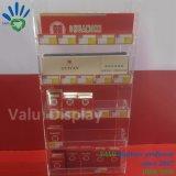 Elegante de acrílico de 3 capas de cigarrillos E Soporte de pantalla para el sector minorista